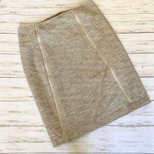 Tahari Tweed Pencil Skirt
